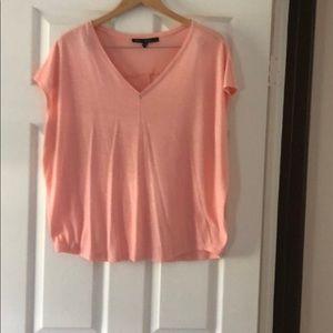 Whbm peach t shirt.
